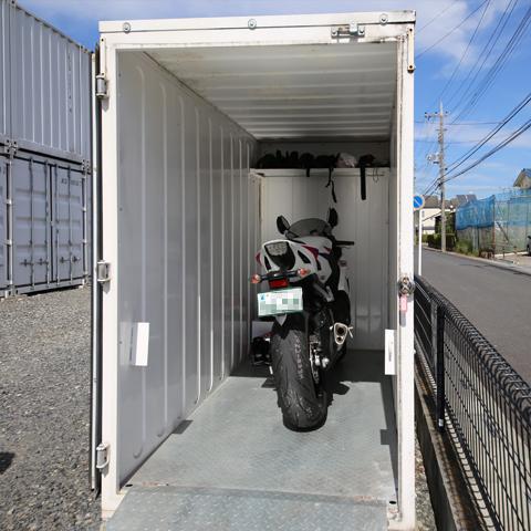さいたま市の貸倉庫 2.0帖(バイク)