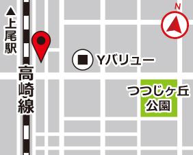 別所町スターズレンタルボックスの地図