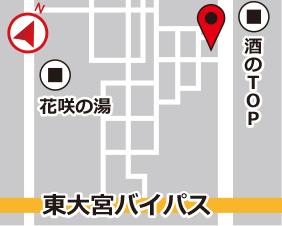 原市スターズレンタルボックスの地図