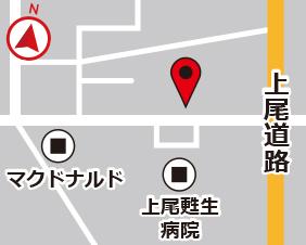 壱丁目スターズレンタルボックスの地図