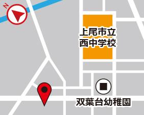 今泉スターズレンタルボックスの地図
