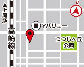 吉野町スターズレンタルボックスの地図